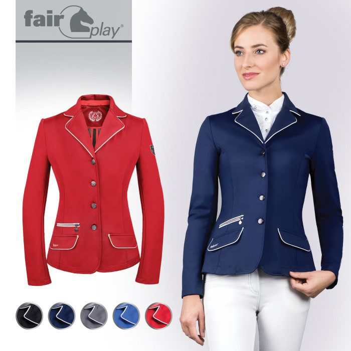 Fairplay Evita Pro Competition Jacket Equine Central